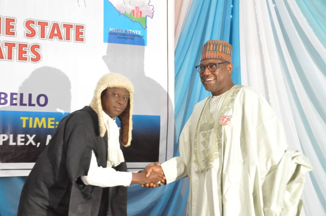 Alh (Dr) Abubabar Sani Bello swears in Judge