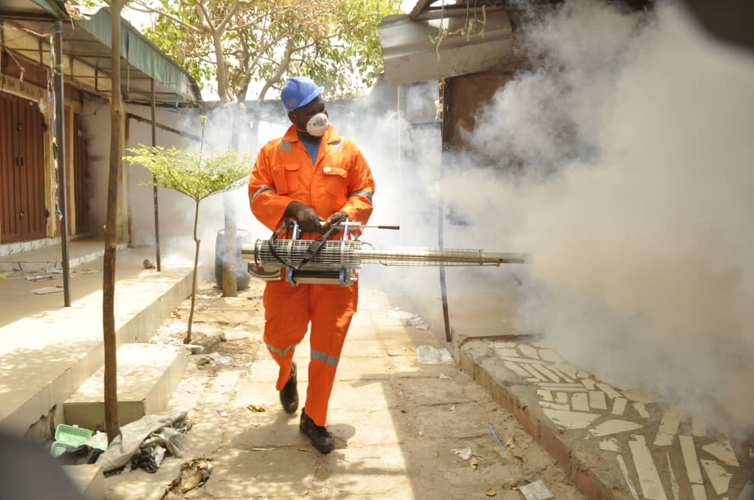NIGER STATE COMMENCES FUMIGATION AGAINST COVID-19