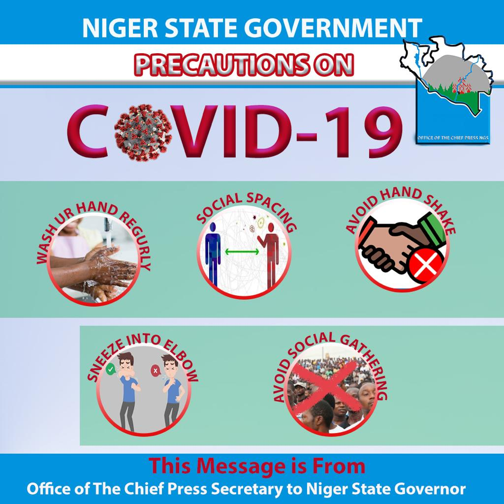 #COVID19: Soft Reminder from Chief Press Secretary to the Niger State Governor