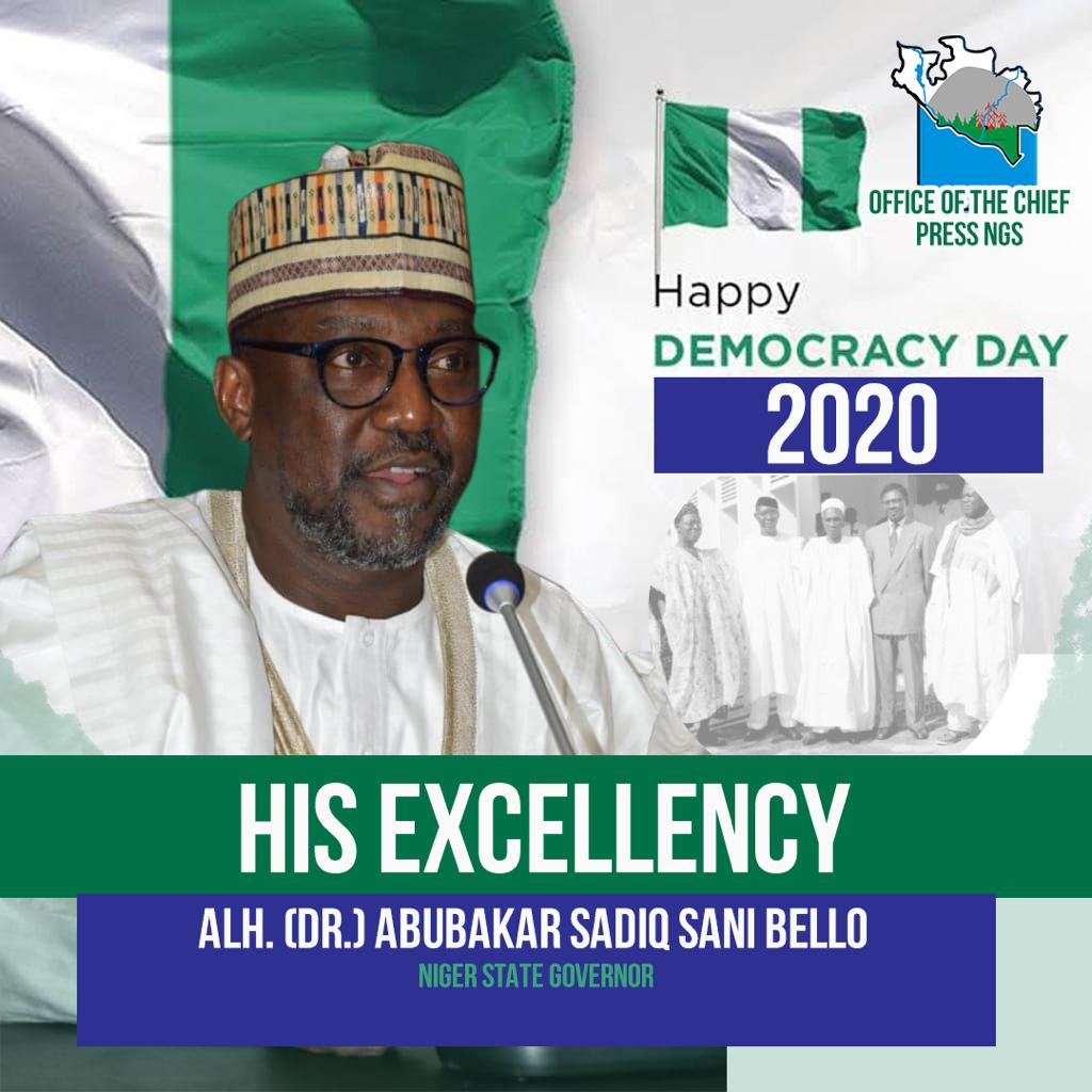 DEMOCRACY DAY: CHAIRMAN NORTH CENTRAL GOVERNORS FORUM CONGRATULATES PRESIDENT BUHARI