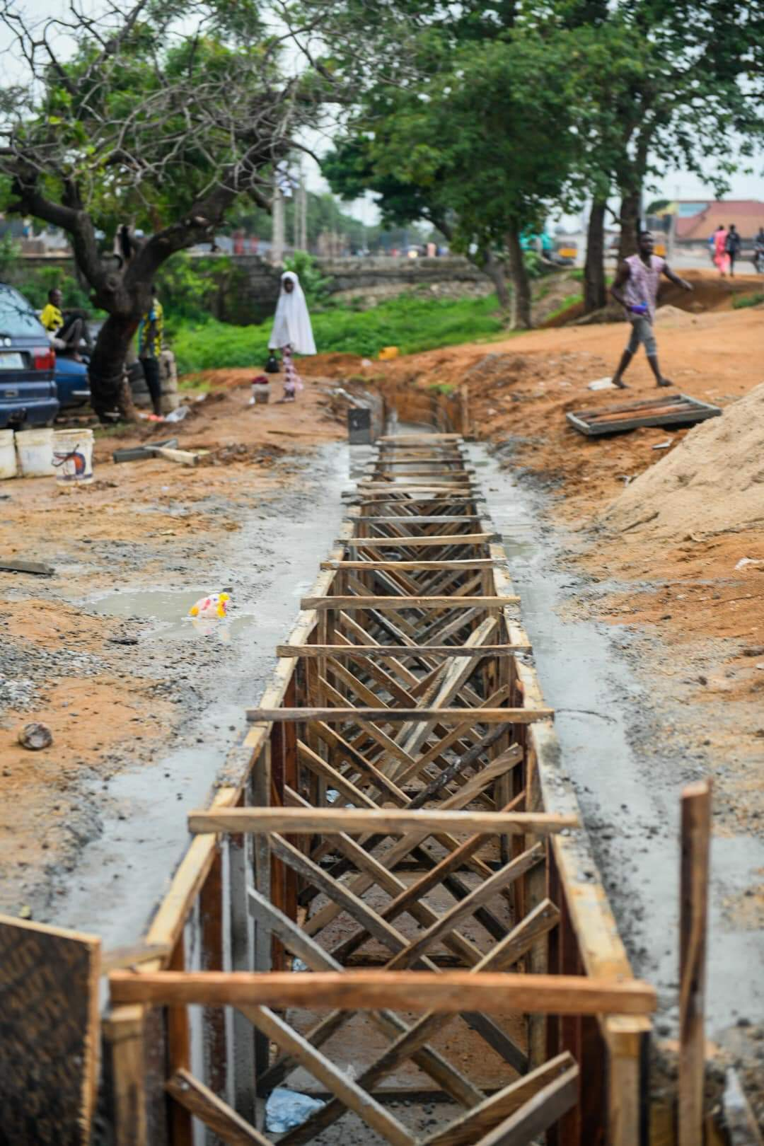 Progress report on reconstruction of the Maje-Kwamba Road in Suleja LG, Niger State by Governor Abubakar Sani Bello