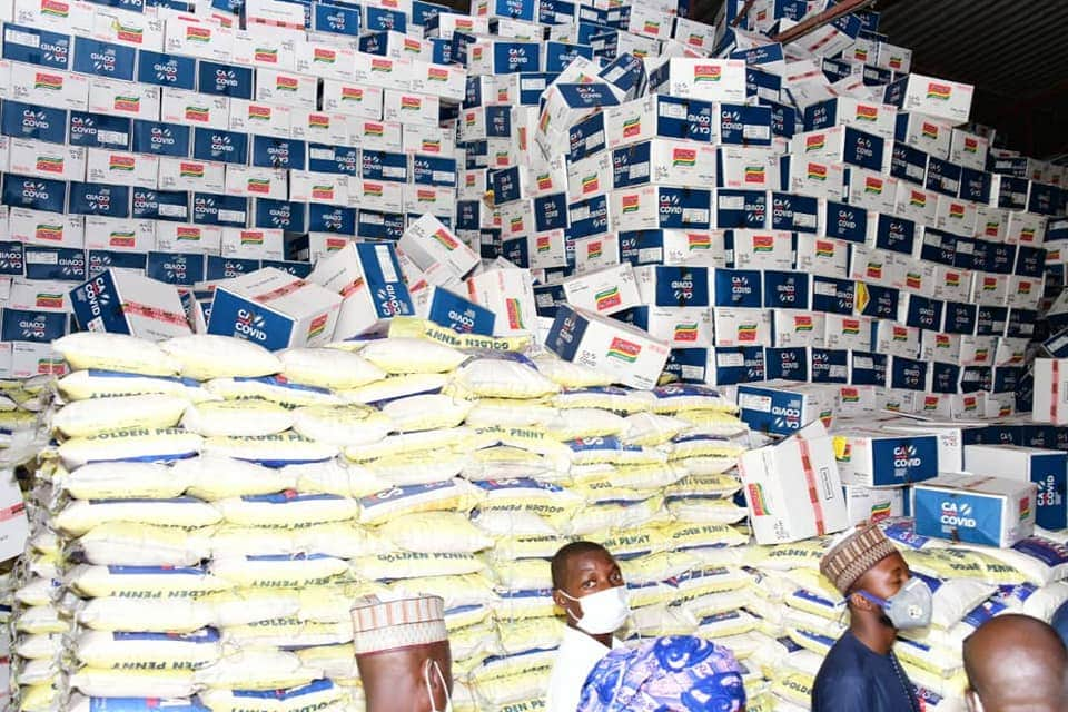 CACOVID-19: FOOD PALLIATIVES TO NIGER STATE TO BE DISTRIBUTED ON COMPLETION OF SUPPLIES TRANSPARENTLY
