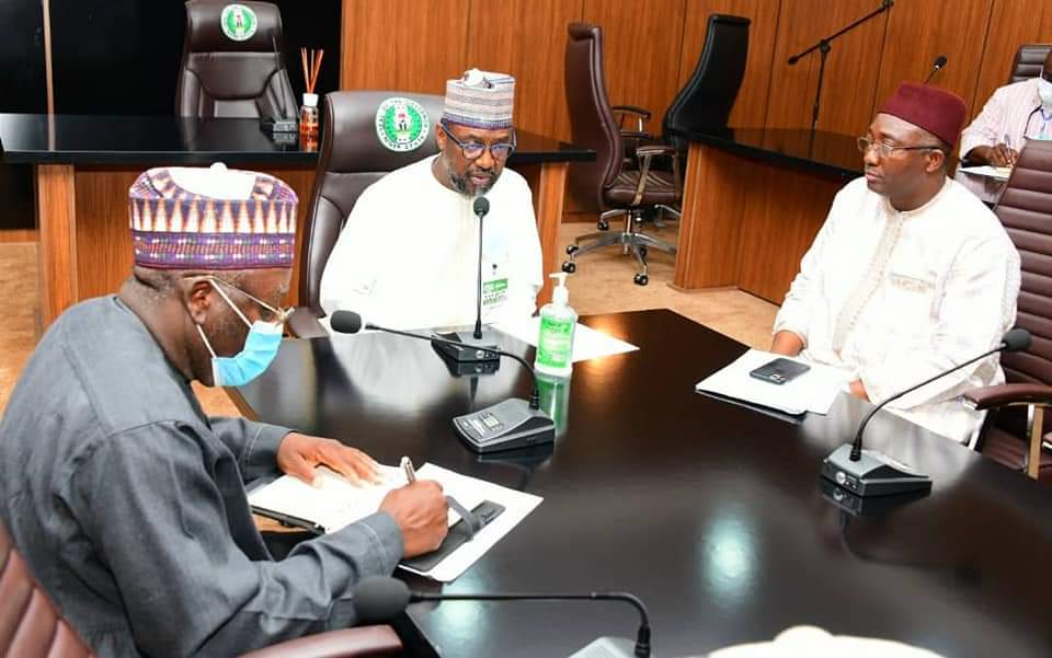 GOVERNOR ABUBAKAR SANI BELLO INAUGURATES ADMINISTRATIVE PANEL TO INVESTIGATE ALLEGATION OF ILLEGAL ISSUANCE OF LICENSE TO WOOD MERCHANTS