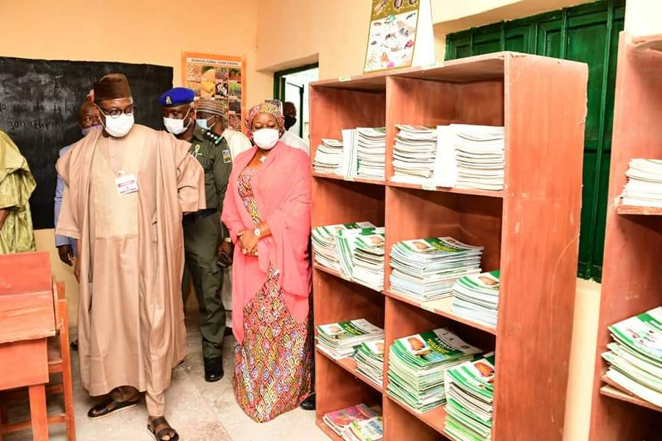 GOVERNOR ABUBAKAR SANI BELLO FLAGS OFF A PILOT SCHEME OF COMPREHENSIVE MODEL INTEGRATED QUR'ANIC EDUCATION IN THE STATE