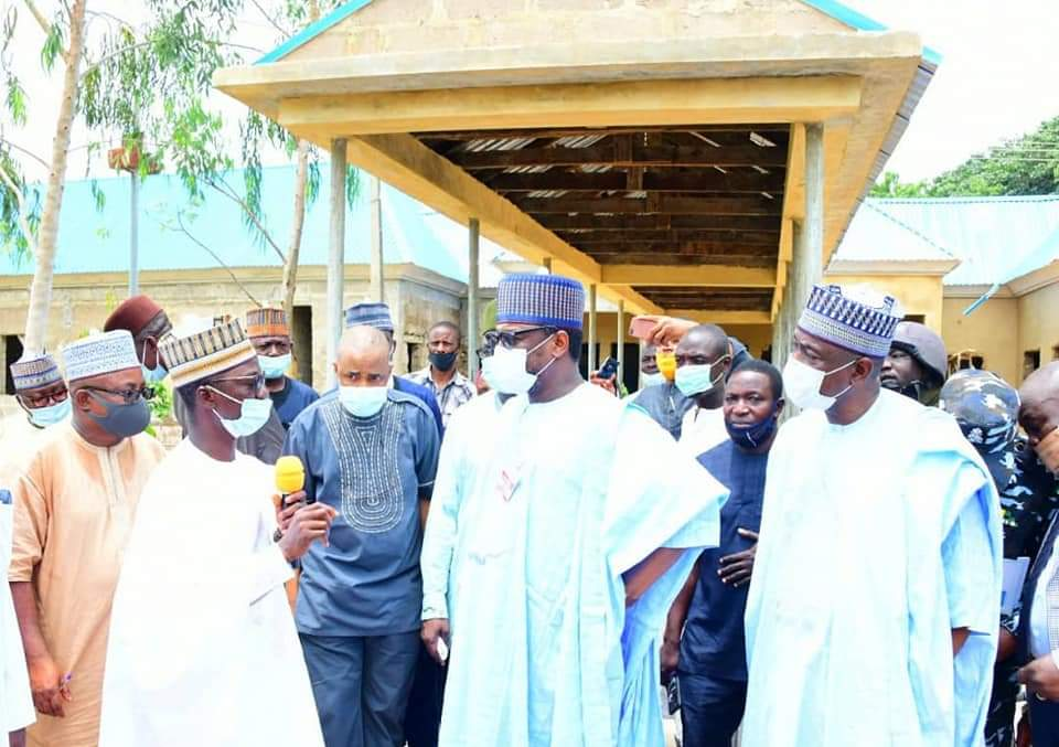 INSPECTION TOUR: GOVERNOR ABUBAKAR SANI BELLO EXPRESSES SATISFACTION OVER GENERAL HOSPITAL AND SCHOOL OF NURSING KONTAGORA PROJECTS