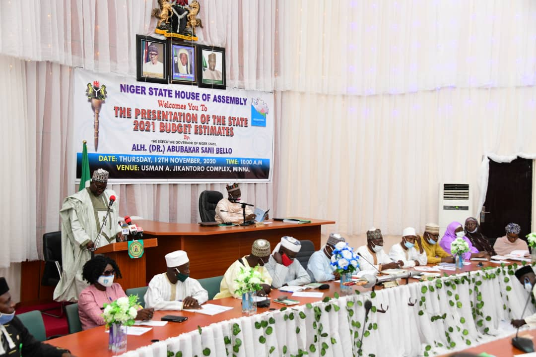 GOVERNOR ABUBAKAR SANI BELLO PRESENTS 2021 BUDGET ESTIMATE OF N151.2B TO STATE HOUSE OF ASSEMBLY