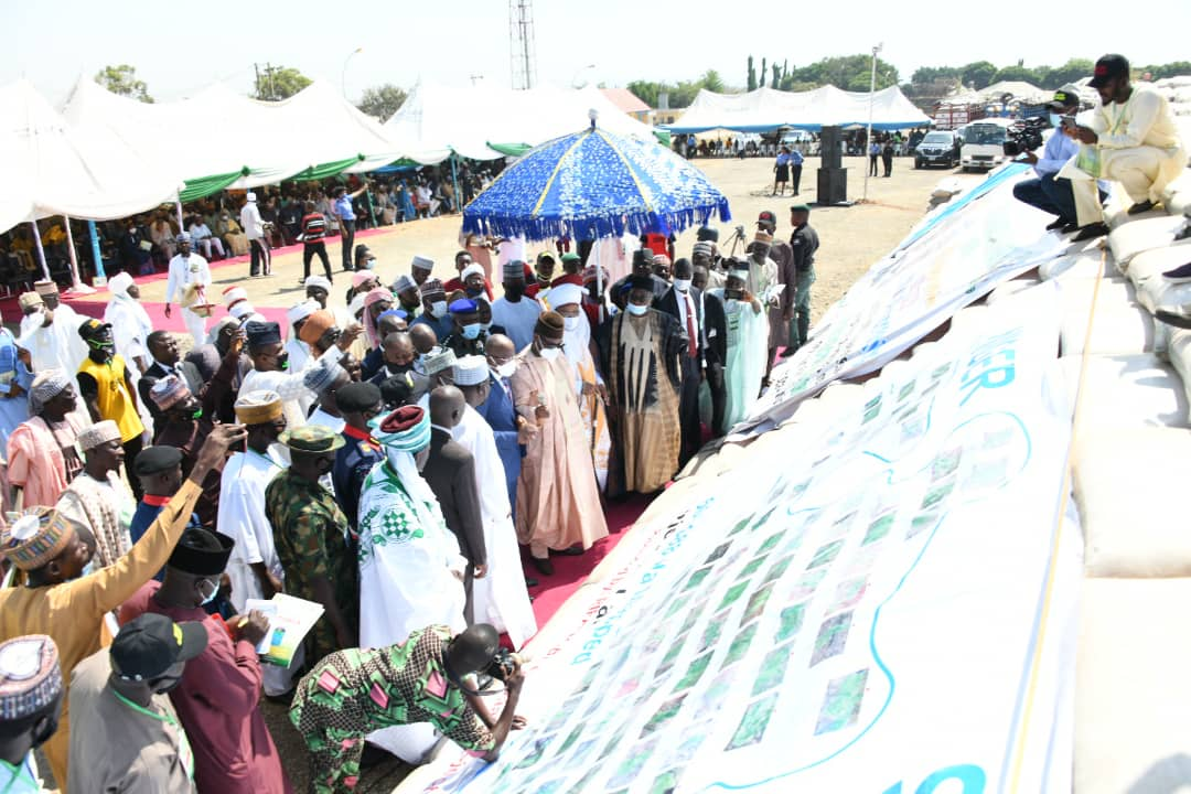 NIGER STATE TO TAKE ITS RIGHTFUL PLACE IN LEADING THE NATION ON RICE PRODUCTION SAYS GOVERNOR ABUBAKAR SANI BELLO OF NIGER STATE