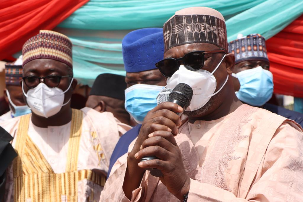 GOVERNOR ABUBAKAR SANI BELLO FLAGS-OFF APC NORTH CENTRAL REVAILDATION/REGISTRATION EXERCISE, REVALIDATE HIS MEMBERSHIP