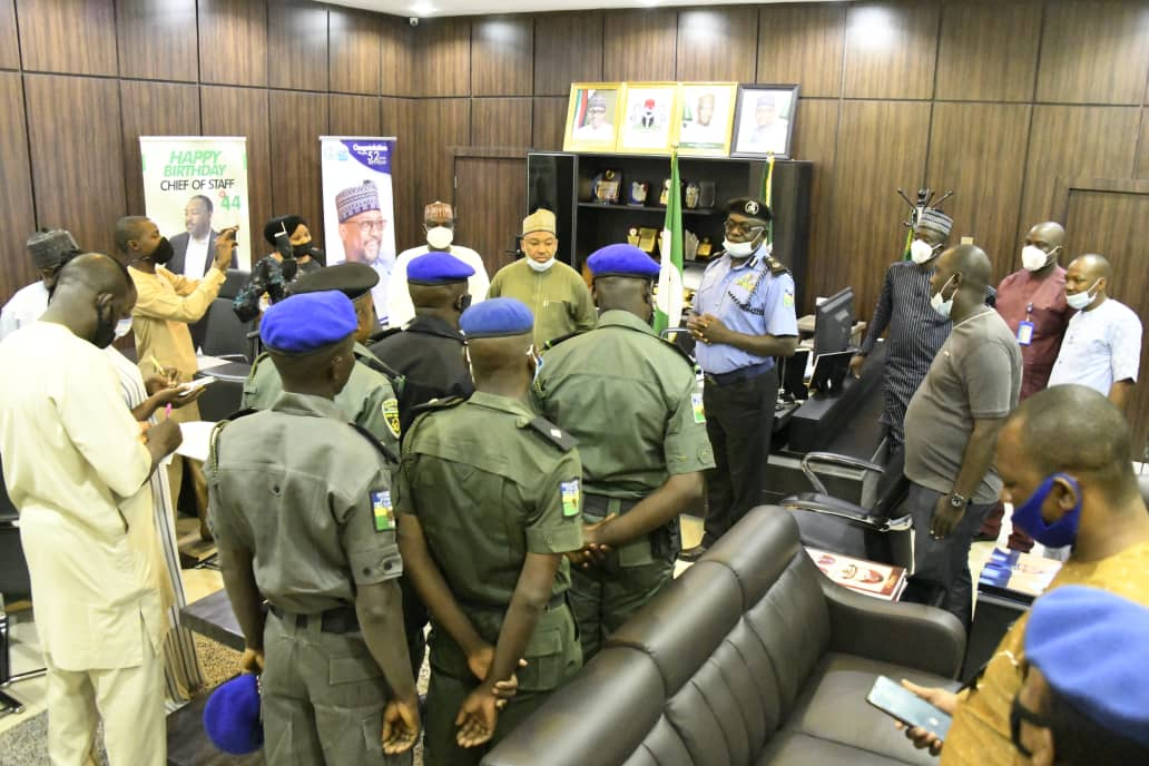 NGSG CHARGES POLICE OFFICERS TO ENSURE SAFETY OF LIVES AND PROPERTY AS SIX INSPECTORS MOVE TO ASP RANK