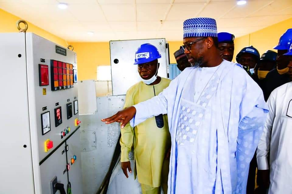 GOVERNOR ABUBAKAR SANI BELLO OF NIGER STATE SAYS INFRASTRUCTURAL DEVELOPMENT IS CRITICAL TO STATE ECONOMY REGENARATION