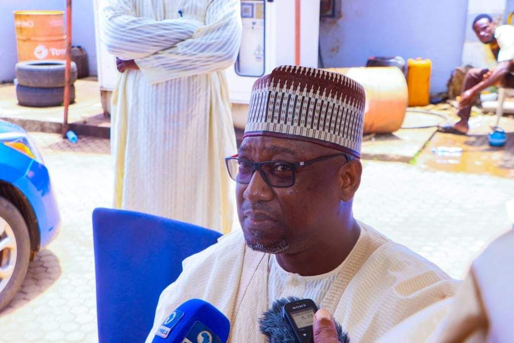 GOVERNOR SANI BELLO RE-ECHO SUPPORT FOR STATE POLICE